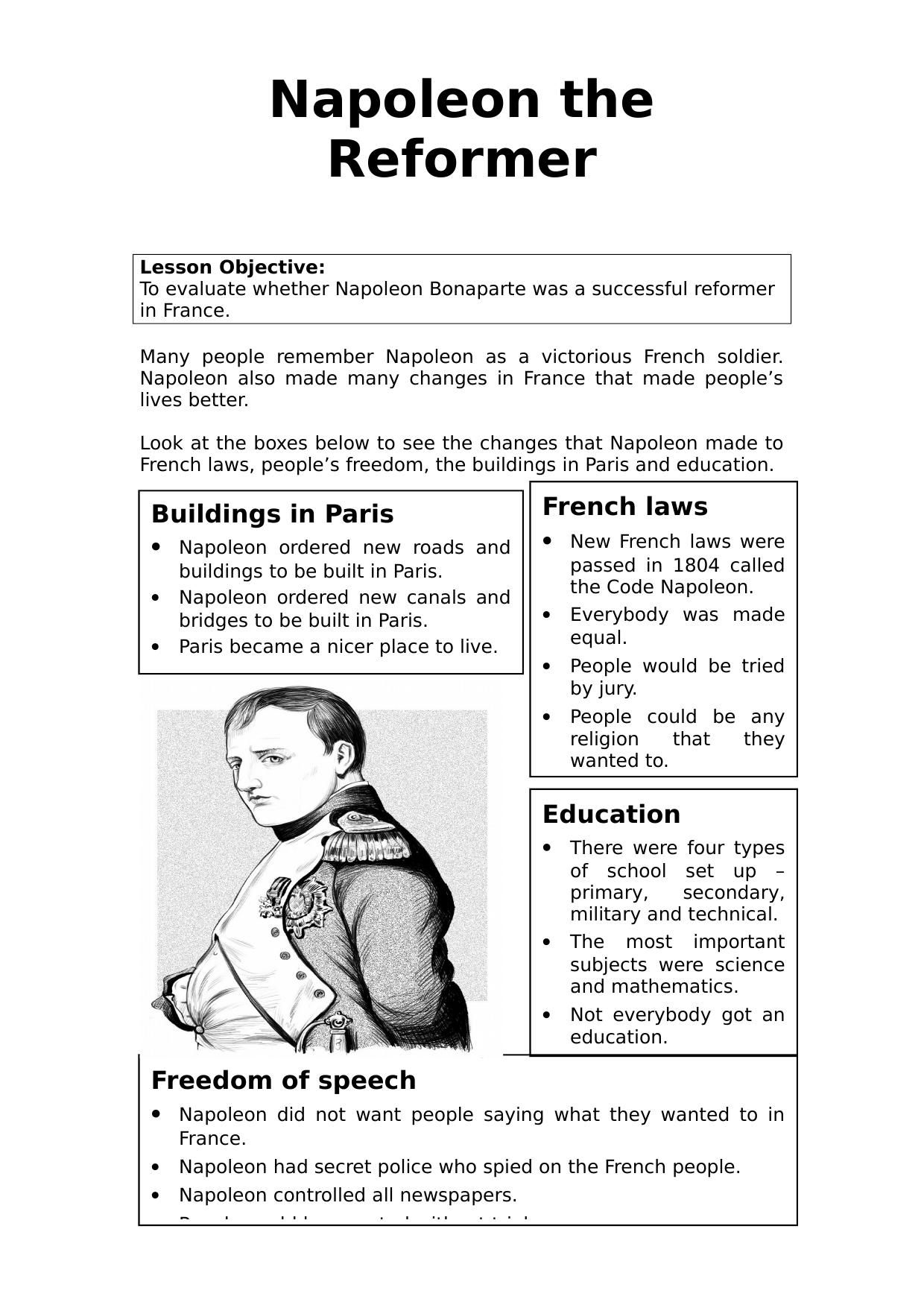 French Revolution Worksheets For High School