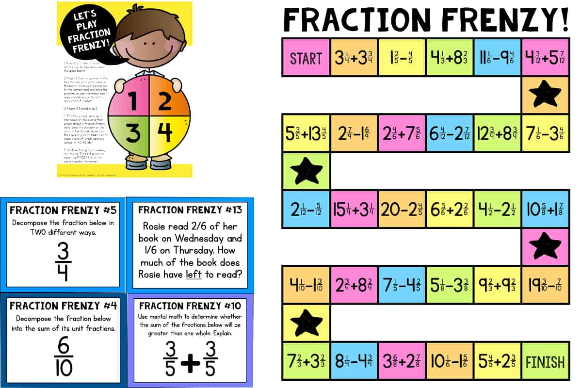 Fraction Action 87 Worksheet Answers