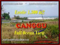 JUAL MURAH TANAH di CANGGU BALI 13 Are View sawah dan laut lingkungan villa