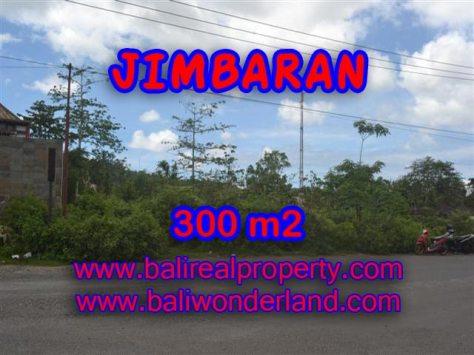 Tanah dijual di Jimbaran 300 m2 di Jimbaran Ungasan