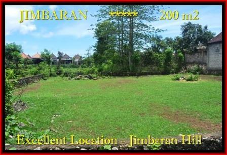 TANAH DIJUAL MURAH di JIMBARAN 200 m2 di Jimbaran Ungasan