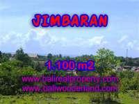 TANAH MURAH JUAL di JIMBARAN BALI 1,100 m2 Lingkungan villa
