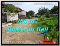 JUAL TANAH di JIMBARAN 200 m2 Lingkungan Villa
