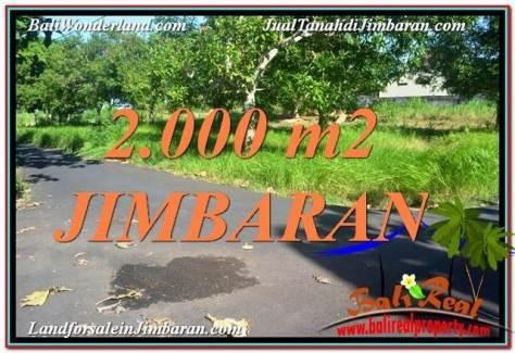 JUAL MURAH TANAH di JIMBARAN 20 Are di Jimbaran Uluwatu