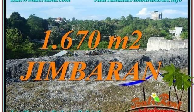 TANAH MURAH di JIMBARAN JUAL 16.7 Are Lingkungan Villa