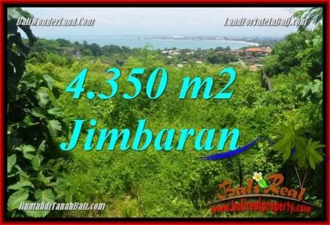 TANAH MURAH di JIMBARAN JUAL 43.5 Are View Laut