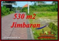 TANAH di JIMBARAN JUAL 530 m2 LINGKUNGAN VILLA