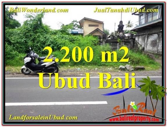 JUAL TANAH di UBUD BALI Untuk INVESTASI TJUB565
