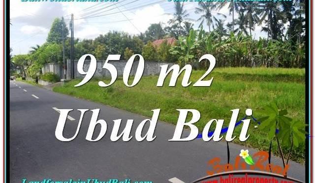 INVESTASI PROPERTY, TANAH MURAH di UBUD BALI TJUB648