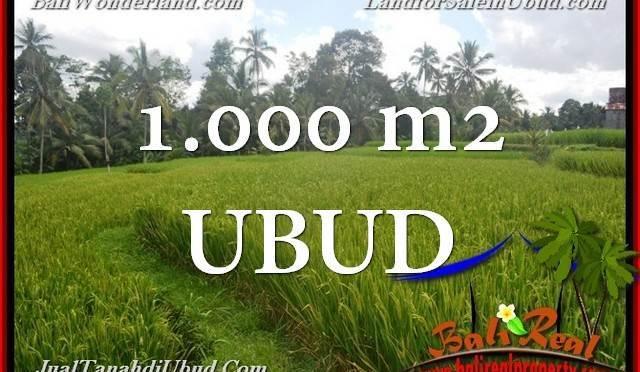 JUAL TANAH MURAH di UBUD TJUB653