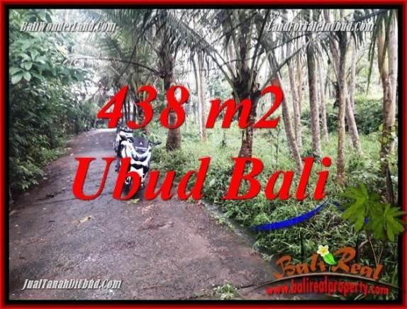 Tanah di Ubud Bali Dijual 4 Are View kebun, lingkungan Villa