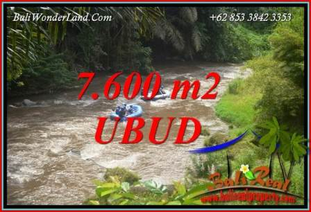 Tanah Dijual di Ubud Bali 76 Are View sawah dan sungai ayung
