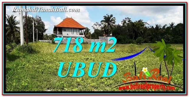 TANAH DIJUAL di UBUD 7 Are View Sawah link Villa