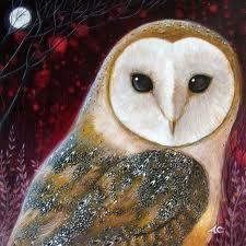 power animal - owl
