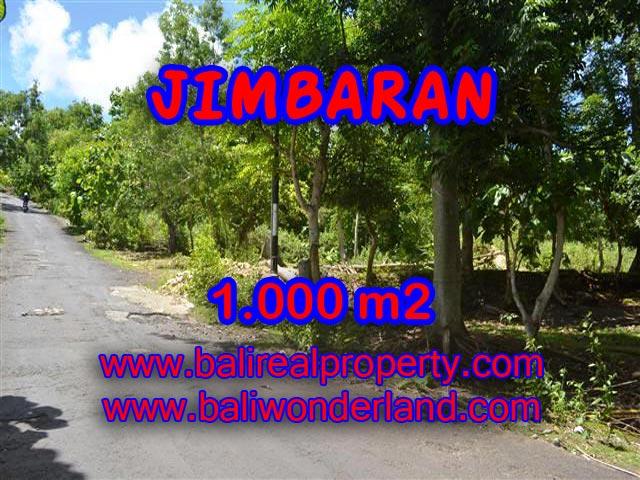 TANAH DIJUAL DI JIMBARAN MURAH TJJI070-X - PELUANG INVESTASI PROPERTY DI BALI