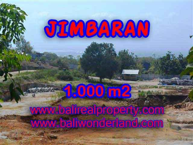 DIJUAL TANAH DI JIMBARAN RP 3.750.000 / M2 - TJJI073 - INVESTASI PROPERTY DI BALI
