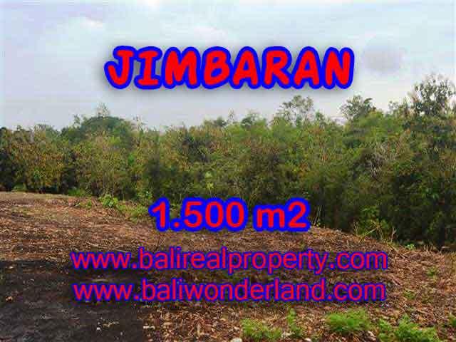 JUAL MURAH TANAH di JIMBARAN BALI 1,500 m2  Lingkungan Perumahan dan Villa