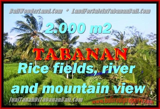 DIJUAL TANAH DI BALI, MURAH DI TABANAN RP 2.250.000 / M2 - TJTB147