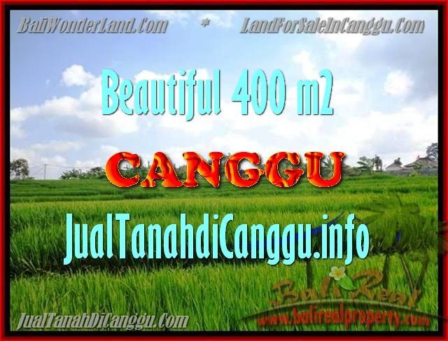 DIJUAL MURAH TANAH di CANGGU BALI Untuk INVESTASI TJCG156