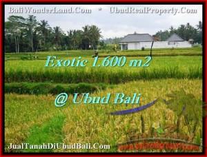 JUAL MURAH TANAH di UBUD 1,600 m2 di Sentral Ubud