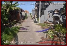 JUAL TANAH MURAH di CANGGU BALI 2.5 Are View link villa