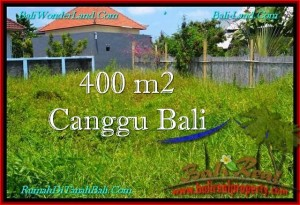 DIJUAL MURAH TANAH di CANGGU 400 m2 di Canggu Pererenan