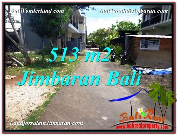 JUAL MURAH TANAH di JIMBARAN 513 m2  Lingkungan Elite