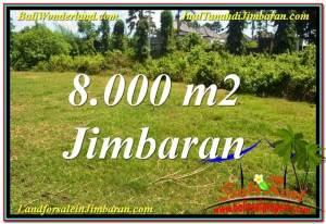 TANAH di JIMBARAN JUAL 80 Are Lingkungan Villa