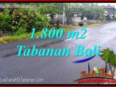 TANAH DIJUAL MURAH di TABANAN TJTB321