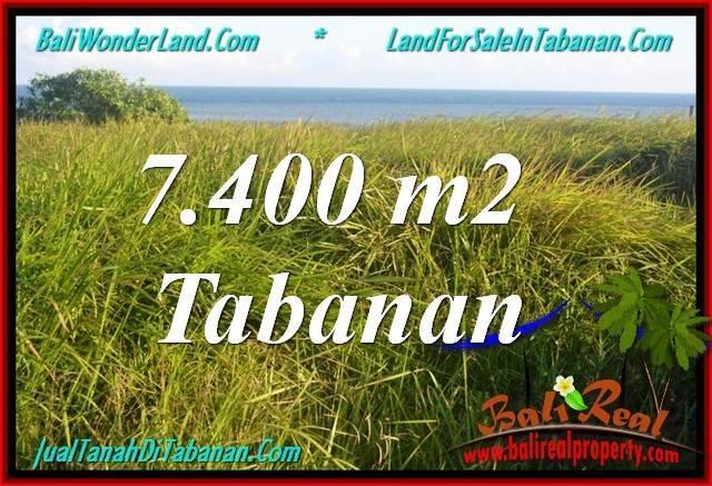 JUAL TANAH di TABANAN BALI 74 Are View Laut, Gunung dan sawah