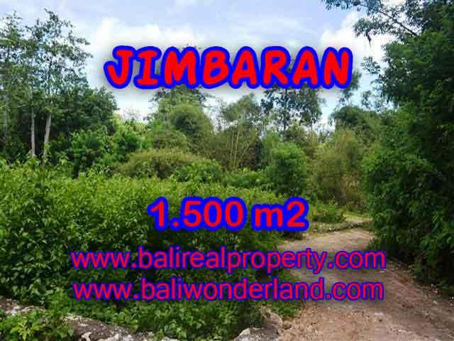 TANAH MURAH DIJUAL di JIMBARAN BALI 1,500 m2 di Jimbaran Ungasan