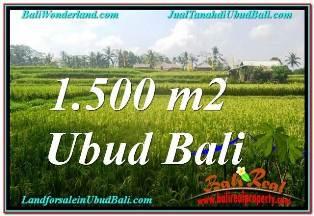 DIJUAL TANAH MURAH di UBUD BALI TJUB667