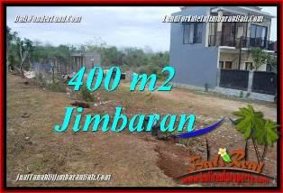 TANAH DIJUAL di JIMBARAN BALI 400 m2  LINGKUNGAN VILLA