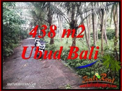 Dijual Murah Tanah di Ubud Untuk Investasi TJUB689