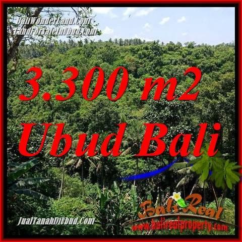 Tanah Dijual di Ubud Bali 33 Are View sungai, lingkungan Villa, Restoran dan Hotel