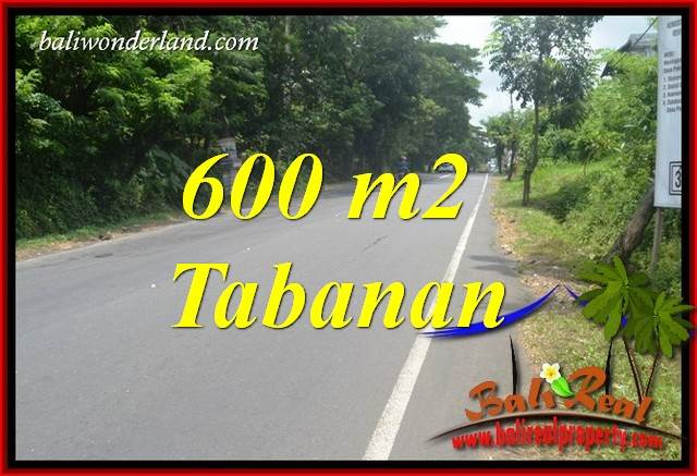 Tanah di Tabanan Bali Dijual Murah 600 m2 di Tabanan Kerambitan