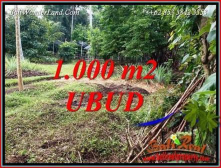 Investasi Property, Jual Tanah di Ubud Bali TJUB712