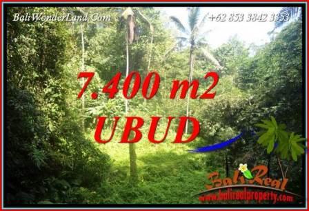 Tanah Murah jual di Ubud Bali 7,700 m2  View air terjun