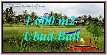 INVESTASI PROPERTI, DIJUAL MURAH TANAH di UBUD TJUB756
