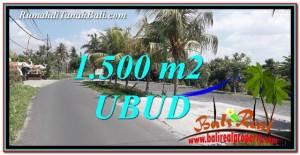 TANAH DIJUAL di UBUD BALI Untuk INVESTASI TJUB758