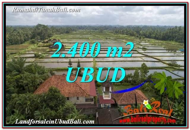 JUAL MURAH TANAH di UBUD BALI 24 Are View Sawah link Villa