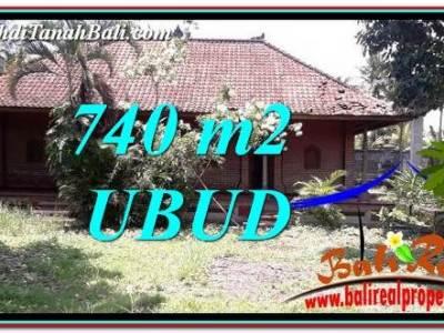 INVESTASI PROPERTI, TANAH MURAH DIJUAL di UBUD TJUB764