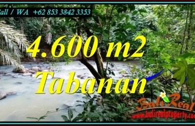 JUAL TANAH MURAH di TABANAN 4,600 m2 di MEGATI