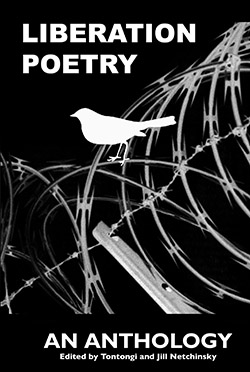 The front cover of The Anthology of Liberation Poetry, cover design by Aldo Tambellini.