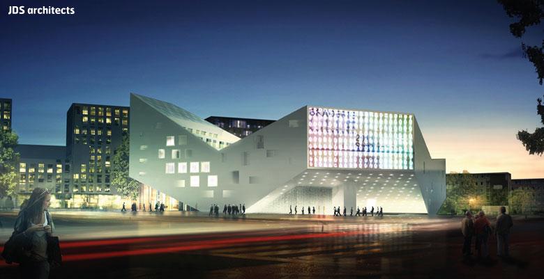 Auberge De Jeunesse Lille Tandem Architecture Et