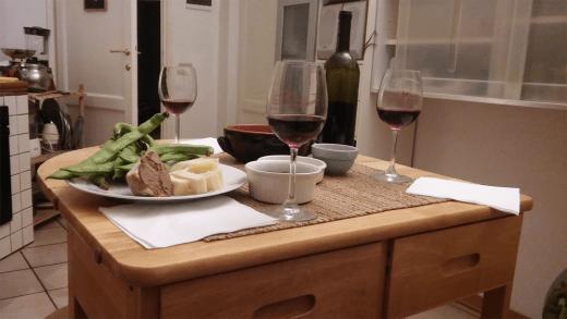 Diner toscan chez Peggy :)