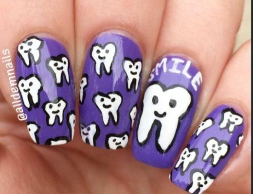 tandvård naglar