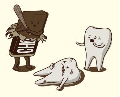 beaten by chocolate