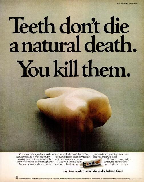 Teeth don't die