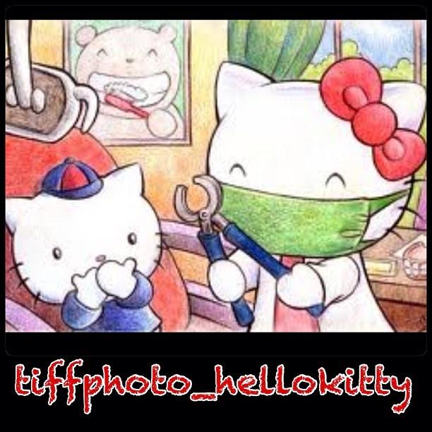 Hello Kitty hos tandläkaren